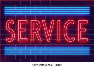 neon illustration