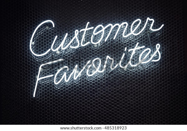 Neon Lettering Font Script Light Type Stock Photo (Edit Now) 485318923