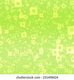 Neon shape symbols generated seamless texture