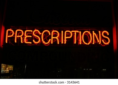 """neon sign series"" Prescriptions"