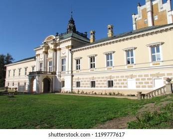 Neo-Renaissance chateau Svetla nad Sazavou, the main wing of the building - Shutterstock ID 1199777617