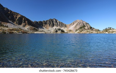 Neouvielle lake in Pyrenees