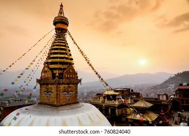 Nepal Buddhist city