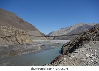 Nepal. Himalayas. Kali Gandaki valley. Jomsom trek.