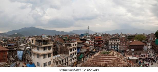 nepal katmandu durbar square old town