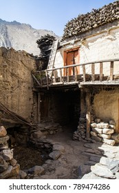 Nepal October 9 2014. Traditional architecture, Kagbeni village, Upper Mustang, Nepal