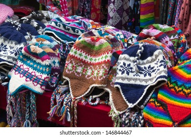 The nepalese handmade knitted hats