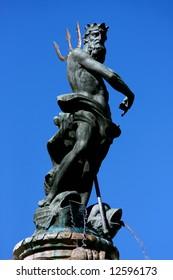 Neptune statue, Trento, northern of Italy