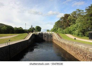 Neptunes Staircase on the Caledonian Canal