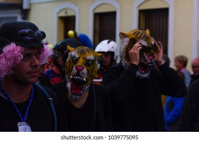 NERJA, SPAIN - FEBRUARY 10, 2018