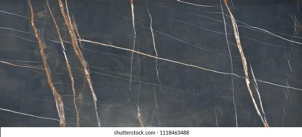 Nero Noir Premium Natural Italian Marble with seamless texture