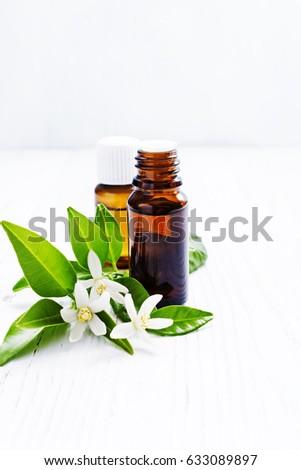 Neroli Citrus Aurantium Essential Oil Brown Stock Photo Edit Now