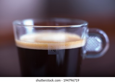 Nespresso coffee cup