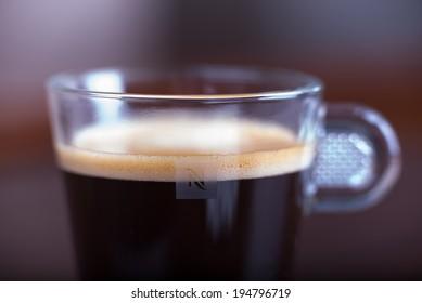 Nespresso coffee cup