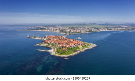 Nessebar ancient city on the Black Sea