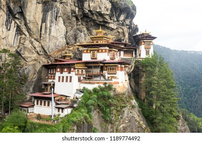 Tiger's Nest, Bhutan. It is such a bliss after hiking 14 kms and reaching the temple. Beautiful architecture
