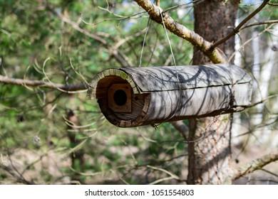 Nesting box for an owl