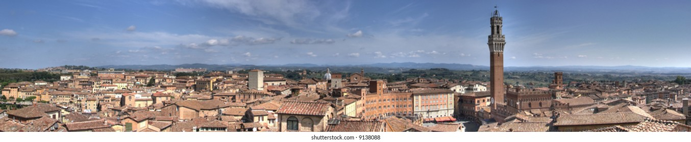 Nestled atop three hills and surrounded by an imposing wall, Siena offers visitors a history rich enough to rival Florence's, but with far fewer tourists.