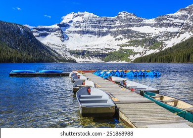 Nestled in a glacial basin, Cameron Lake is a hidden jewel high in the Canadian Rockies. Part of Waterton Lakes National Park, Cameron Lake offers fishing, boating and breathtaking views.