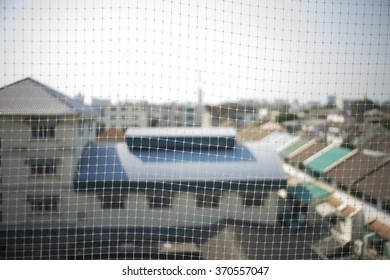 The net that prevent bird to live at the balcony of the building. Prevent disease which could come from bird's sham. Canker, coccidiosis, E. coli, One-Eye Colds, Paratyphoid, Pigeon Pox, PMV , Adeno,