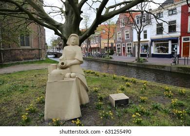 The NETHERLANDS - 16 APR: Nieuwe Kerk in Delft, the Netherlands on 13 April 2017