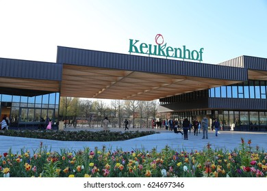 The NETHERLANDS - 8 APR: Keukenhof in the Netherlands on 8 April 2017