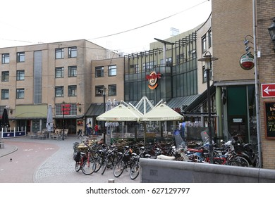 The NETHERLANDS - 8 APR: Leidseplein in Amsterdam, the Netherlands on 8 April 2017
