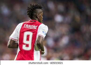 NETHERLANDS, AMSTERDAM - 13th August 2016: Ajax player Bertrand Traore at the Amsterdam ArenA