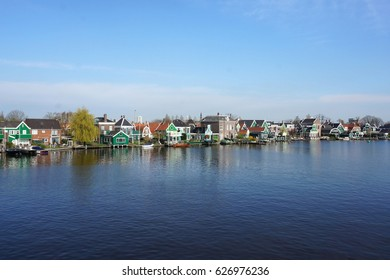 Netherlands, Amsterdam, Windmill Village, Zaanse Schans, April 2016