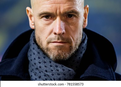 NETHERLANDS, BREDA - December 23th 2017: current trainer, manager, coach Utrecht possible becoming trainer of AFC Ajax Erik ten Hag