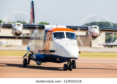 Netherlands Coastguard Dornier Do-228 pictured at the 2018 Royal International Air Tattoo at RAF Fairford in Gloucestershire.