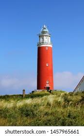 Netherlands Dutch Island Texel. Texel lighthouse
