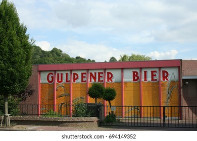 Netherlands, Gulpen,-june 2016: brewery in Gulpen