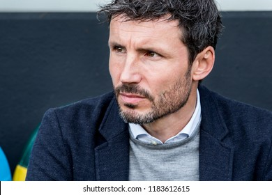 NETHERLANDS, THE HAGUE - Sept 16th 2018: during the match ADO The Hague - PSV Eindhoven, trainer, coach, head coach, manager Mark van Bommel