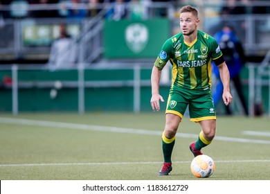 NETHERLANDS, THE HAGUE - Sept 16th 2018: during the match ADO The Hague - PSV Eindhoven, ADO Den Haag player Aaron Meijers