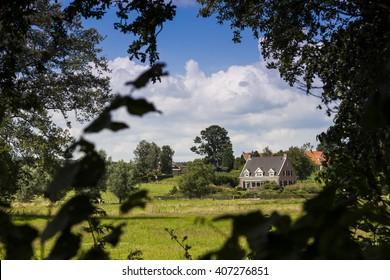 Netherlands landscape, Montferland / Gelderland / Achterhoek