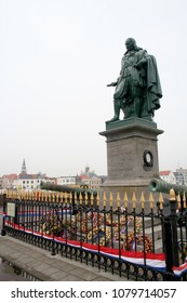 Netherlands,Holland,Dutch,Zeeland,Vlissingen, june 2016:Statue of Michiel Adriaenszoon de Ruyter on the Boulevard de Ruiter