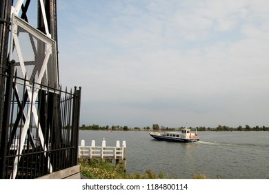 Netherlands,North Holland,Enkhuizen,july 2018: istorical light house in The harbor of the city of Enkhuizen