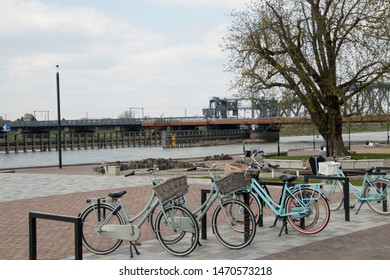 Netherlands,Overijssel,Deventer,april 2019:Life up and arround the river IJssel