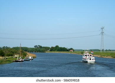 Netherlands,The Biesbosch,june 2016 : The Biesbosch National Park, consists of a rather large network of rivers and smaller and larger creeks with islands.