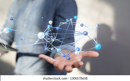 network connection in hand
