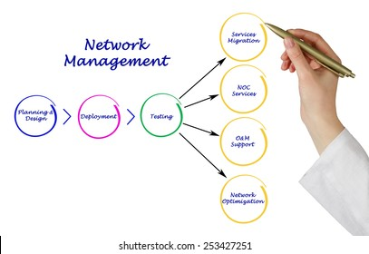 Network Management  - Shutterstock ID 253427251