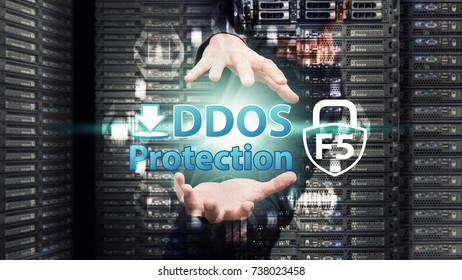 Network security control from business man for DDOS attack protection