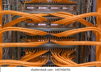 Network switch connections for network cable RJ45