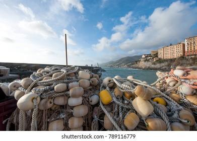 networks of Ligurian fishermen