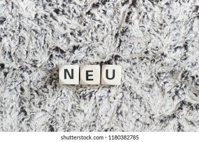neu - new in german language