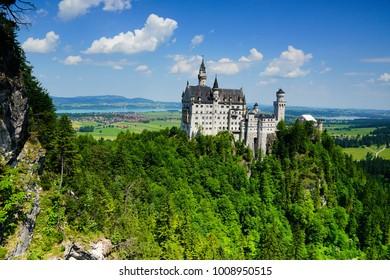 Neuchwanstein castle in Germany