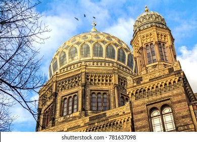 The Neue Synagoge, the main synagogue of Berlin, Germany