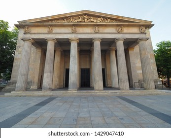 Neue Wache (meaning New Guardhouse) Central Memorial of the Federal Republic of Germany for the Victims of War and Dictatorship in Berlin, Germany