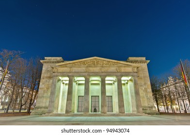 The Neue Wache (New Guard) is the main building of the former king's guard and now serves as Central Memorial of the Federal Republic of Germany for the victims of war and tyranny.